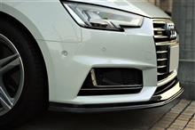 A4 アバント (ワゴン)balance it Audi A4(B9) S-Line Front Lip Spoilerの単体画像