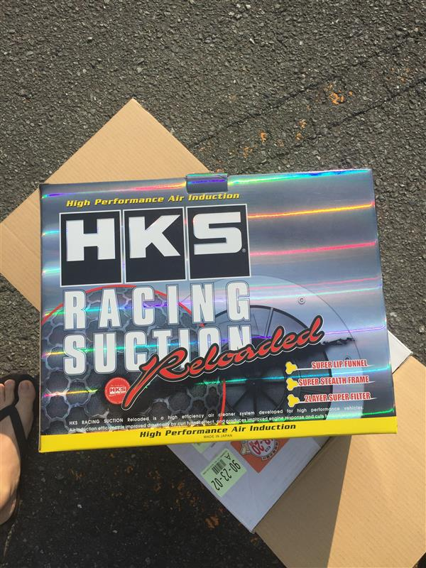 HKS racing suction