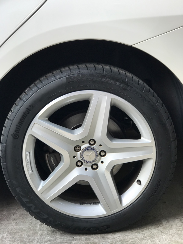 Continental ExtremeContact DWS 265/45R20