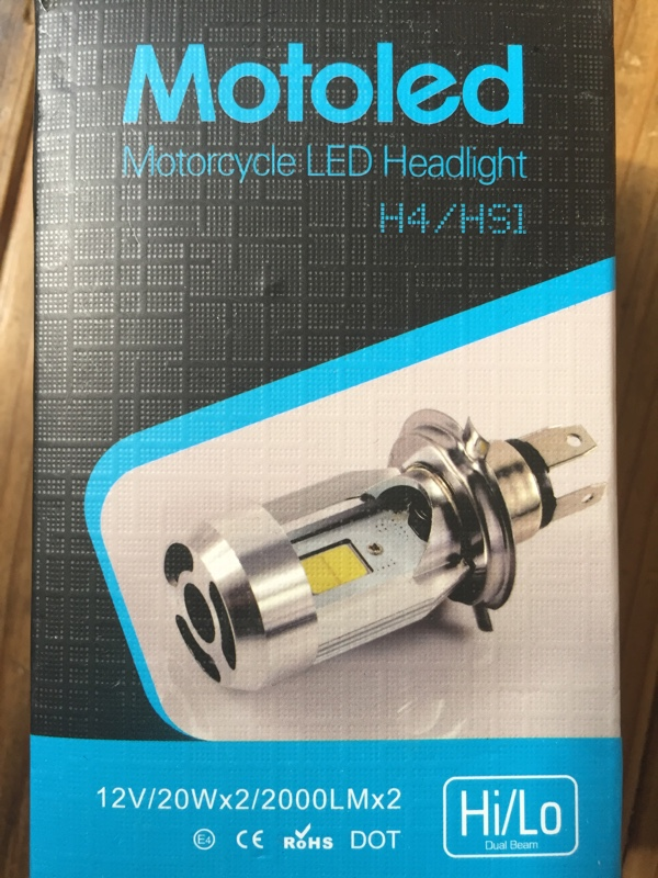 motoled H4 LED バルブ