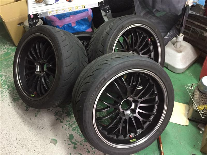RAYS VOLK RACING VOLK RACING C345 ULTRA LIGHT 18インチ 9.5J