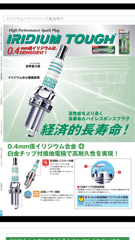 DENSO IRIDIUM TOUGH VCH16