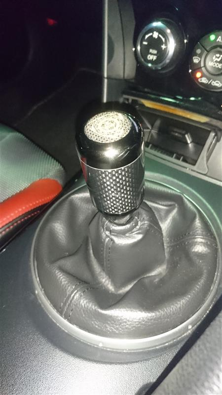 RE雨宮 SHIFT KNOB CARBON 400