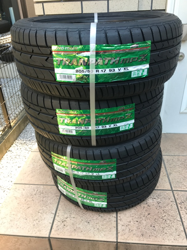 TOYO TIRES TRANPATH mpZ 215/55R17