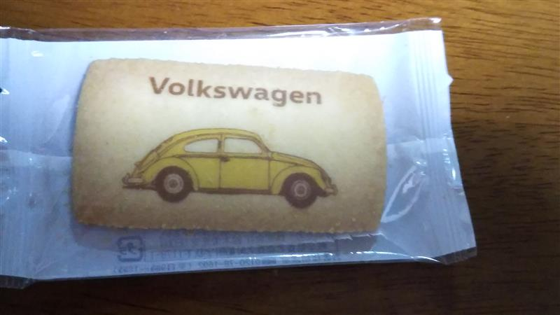 鈴木栄光堂 Volkswagen Beetle cookie