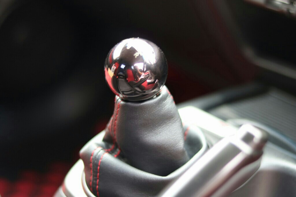 SEEKER Heavy shift knob 6MT