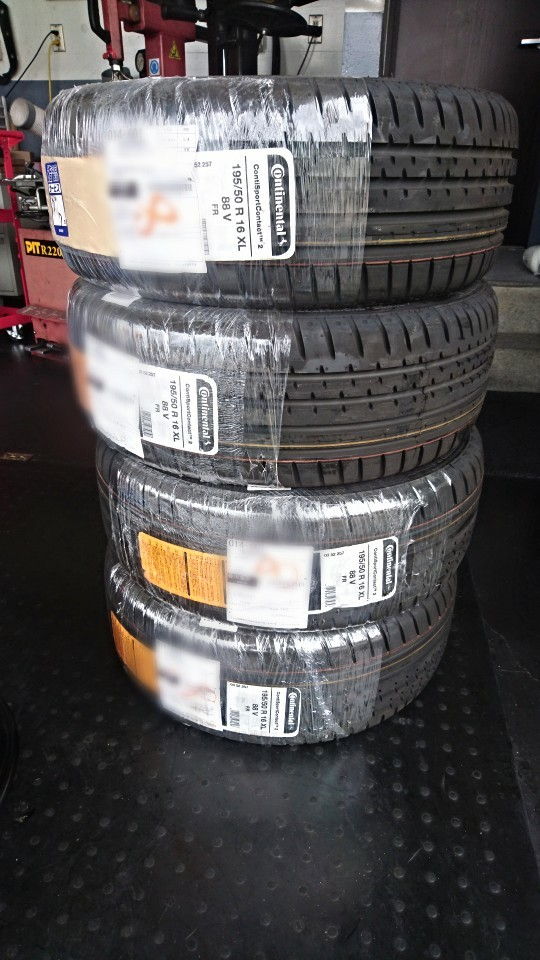 Continental ContiSportContact 2 195/50R16