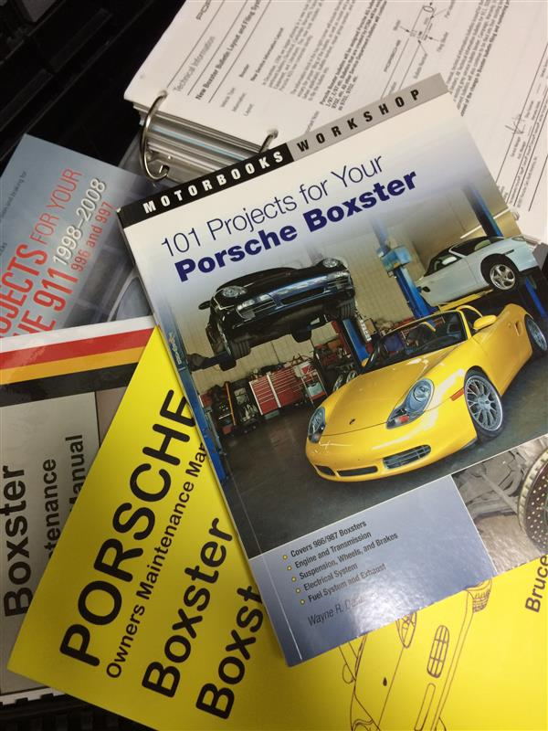 motorbooks 101 Project for your Porsche Boxter