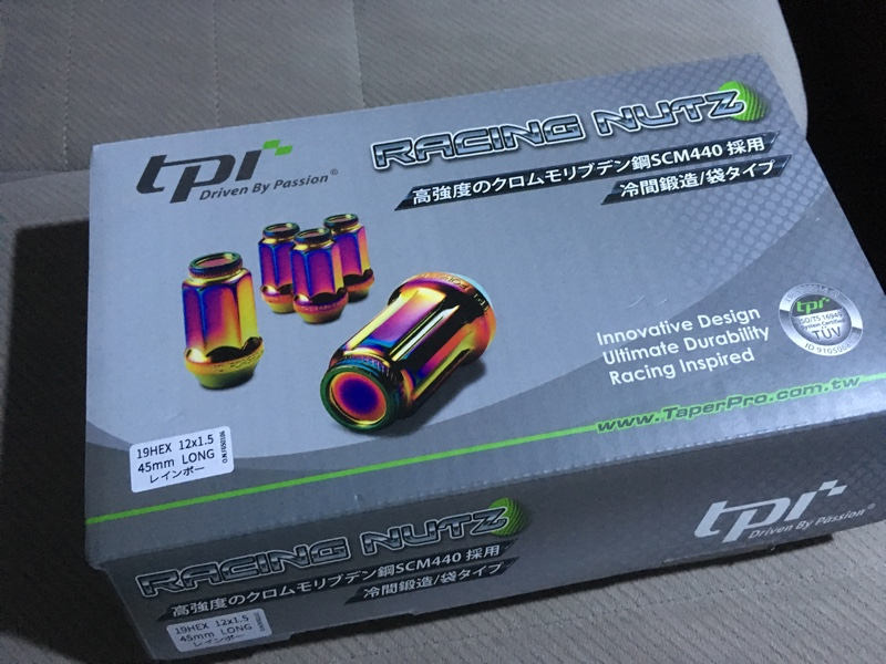 tpi / Taper Pro Industrial レーシングナット