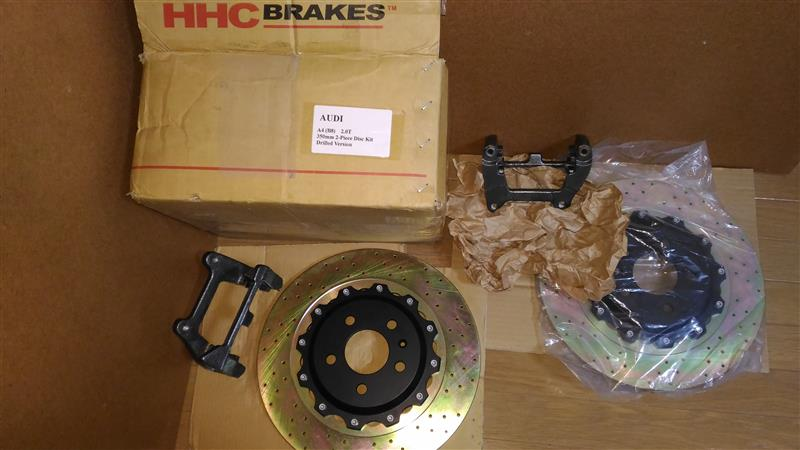 HHC BRAKES リアビッグローターキット