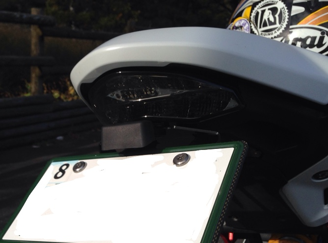 Authorized Motodynamic (MD) Dealer INTEGRATED Signal LED Tail Light SMOKED LENS