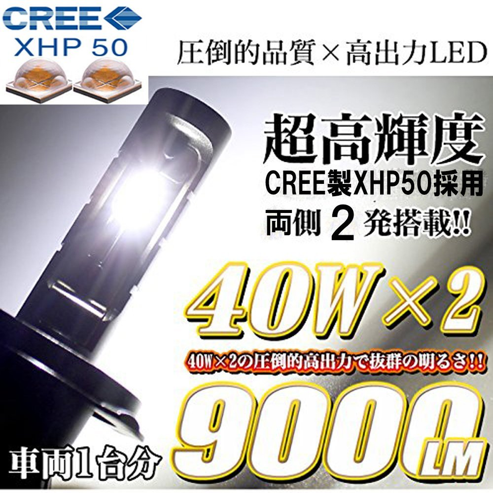 e-auto fun H8/H11/H16(JP)LED ヘッドライト LC-6SCREEH11