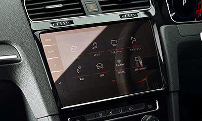 maniacs core OBJ LCD Screen Protector(クリアハードタイプ) for VW Discover Pro (9.2inch)