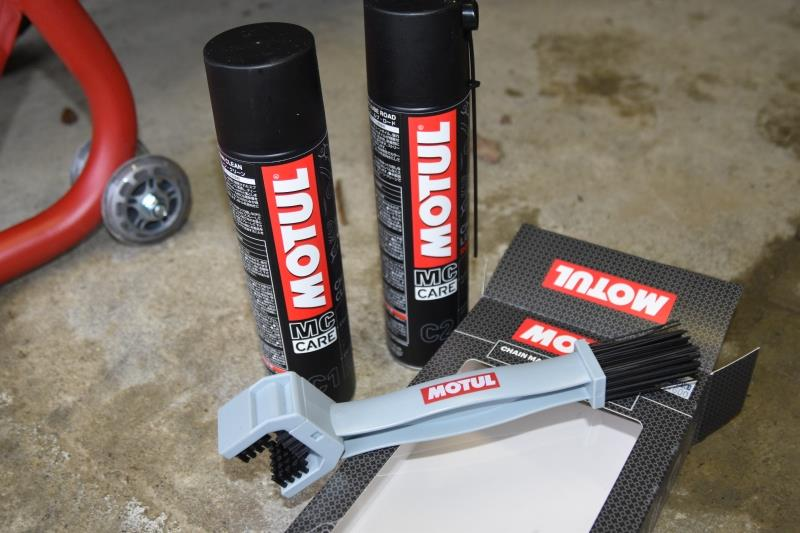 MOTUL CHAIN MAINTENANCE KIT ROAD