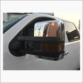 K2motor 2007-2013 Silverado Sierra Facelift Style LED Power+Heated Towing Side Mirrors