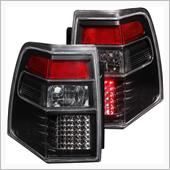 Anzo Black/Red LED Tail Lights