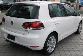 VW Golf VI TSI Highline リアビュー