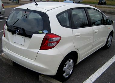 Honda Fit G (GE6) リアビュー