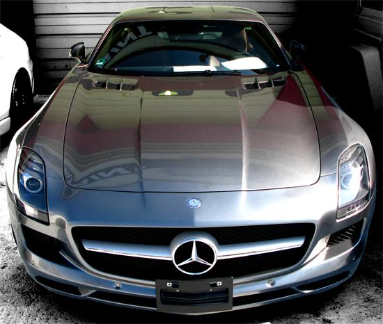 Mercedes-Benz SLS AMG Coupe フロント