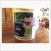 Mug Cup with Qashqai on the Retro show(22/06/2014)