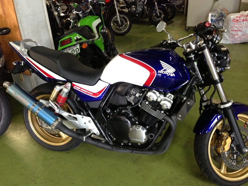 ホンダ CB400 SUPER FOUR HYPER VTEC spec3