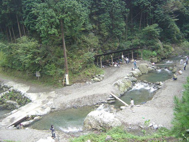 釣り場 渓谷 観光 有 間 料金表