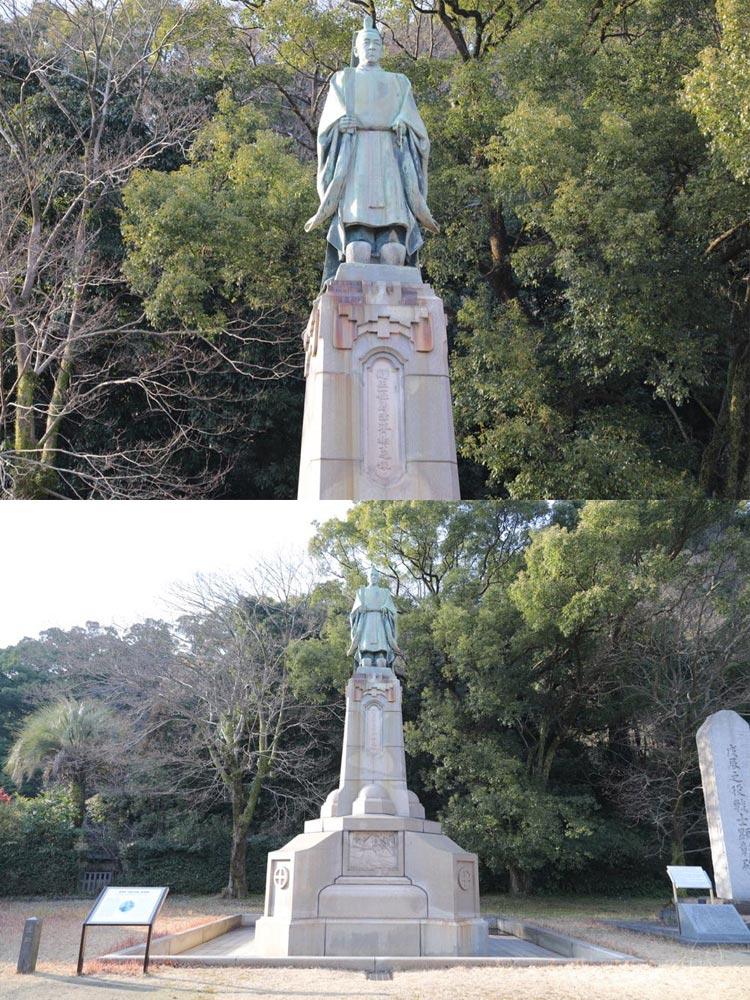 照国神社・島津斉彬公像(鹿児島...