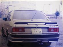 白いUFOさんの5シリーズ セダン リア画像
