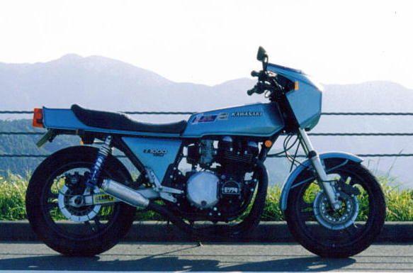 カワサキ Z1-R