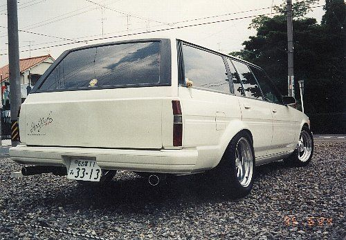 トヨタ マークIIバン