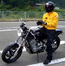 kakeraさんのSRX400 リア画像