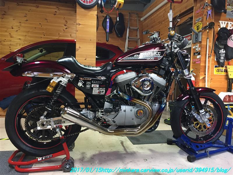 ハーレーダビッドソン スポーツスターXL1200R(ロードスター)
