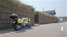 よっちゃんベルランゴさんのK1200RS リア画像
