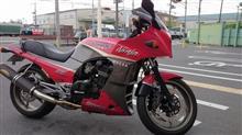 黒鷹さんのGPZ900R 左サイド画像