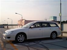 古谷さんの愛車:スバル レガシィツーリングワゴン