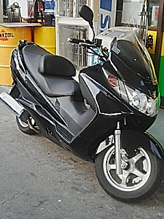スズキ スカイウェイブ400