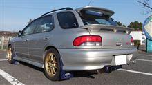 Ken@GF8F_STi/社用車さんのインプレッサ スポーツワゴン WRX 左サイド画像
