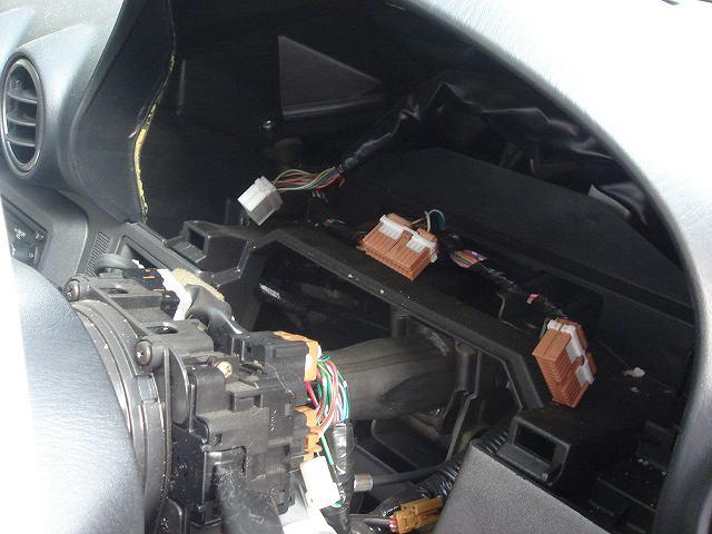 車速感応ドアロックユニットの取付