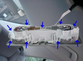 ゼロクラウン リアスポットランプ 9連LED取り付け方法