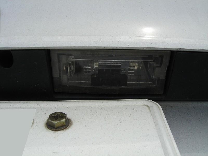 3シリーズ ツーリング LED ナンバー灯のカスタム手順2