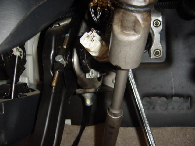 エンジンスターター部分の取り付け