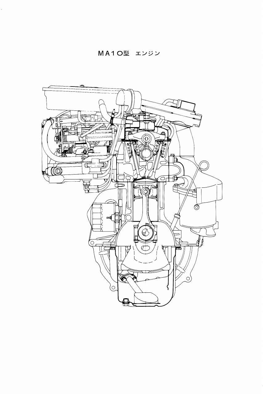 日産・マーチ/K10型搭載ベーシックエンジン、MA10Sについて
