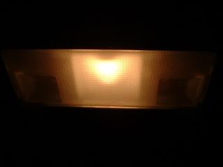 ルームランプ自作LED化