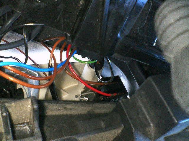 LEDポジション球交換&ライト内清掃1