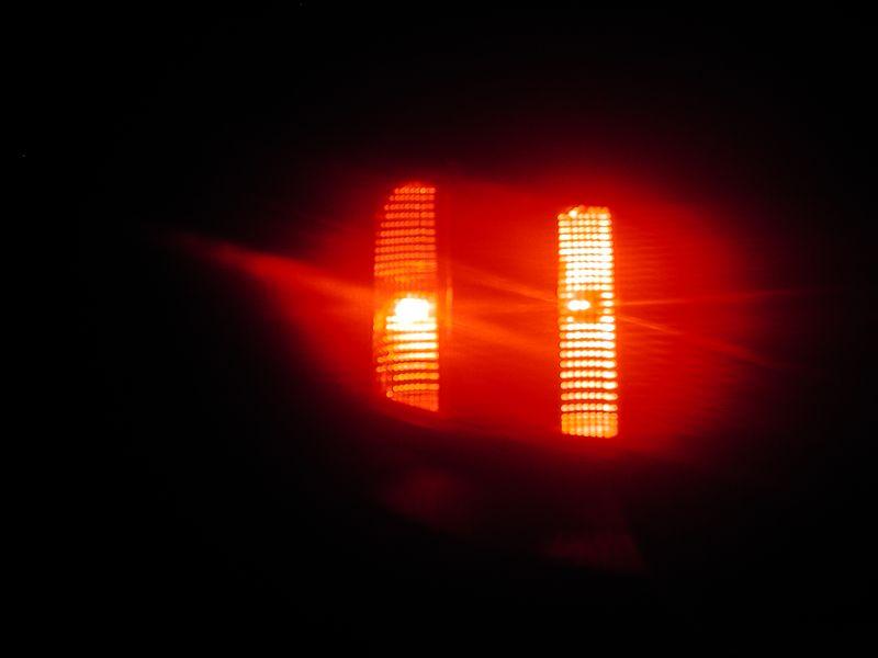 亀井屋LEDストップランプ装着(お手軽対策付)