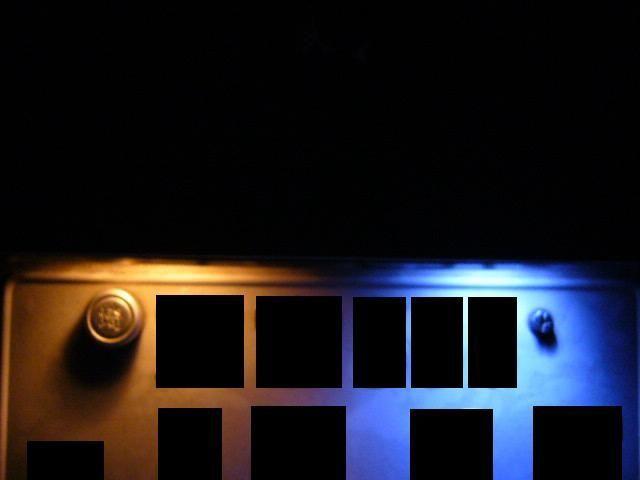 ナンバー灯LED化!