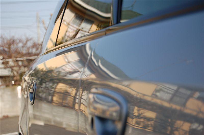 デントリペア 運転席ドア・ノブ上(突起激突)と後席ドア(縦長ドアパンチ)