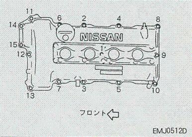 エンジンヘッドカバー塗装