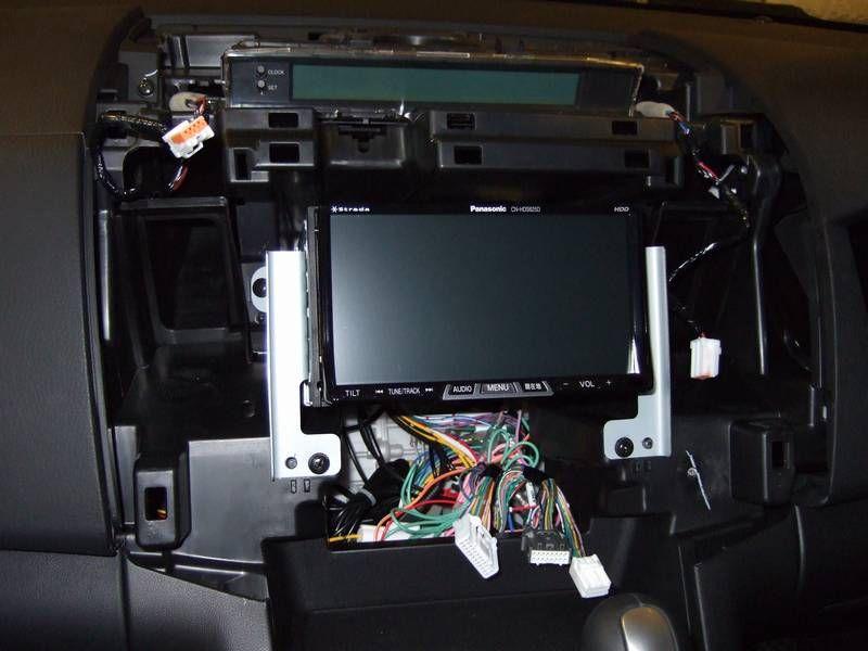 カーナビ(Panasonic CN-HDS625TD)取り付け