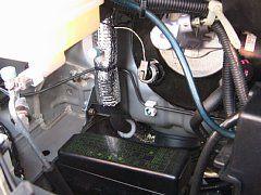 ヒータ・冷却系を断熱処理